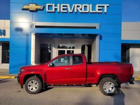 Cherry Red Tintcoat 2022 Chevrolet Colorado LT Extended Cab