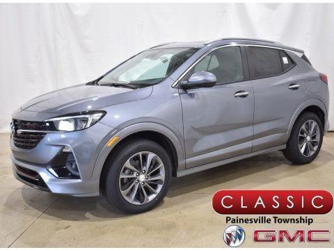 Satin Steel Metallic 2022 Buick Encore GX Select AWD