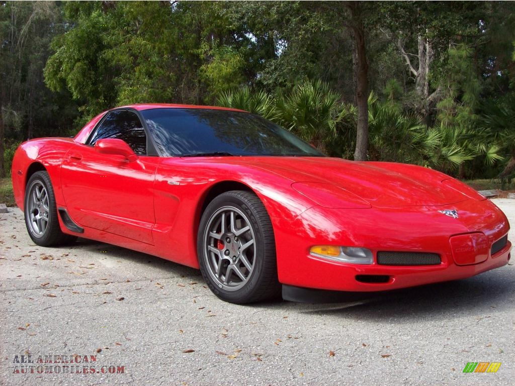 2003 chevrolet corvette z06 in torch red photo 9 105143 all american automobiles buy. Black Bedroom Furniture Sets. Home Design Ideas