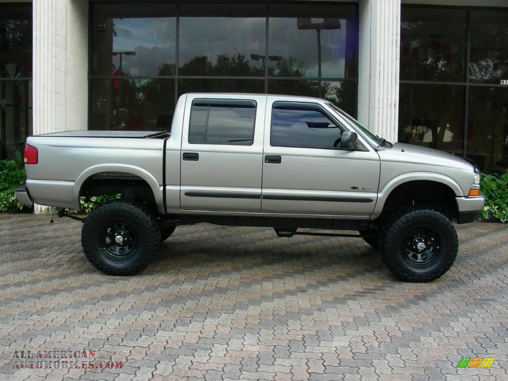 2003 chevrolet s10 ls crew cab 4x4 in light pewter metallic 154909 all american automobiles. Black Bedroom Furniture Sets. Home Design Ideas