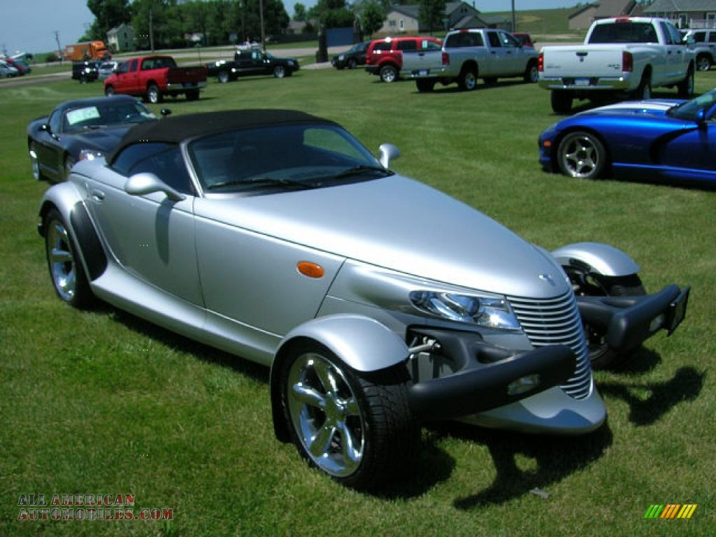 2000 Plymouth Prowler Roadster in Prowler Bright Silver Metallic ...