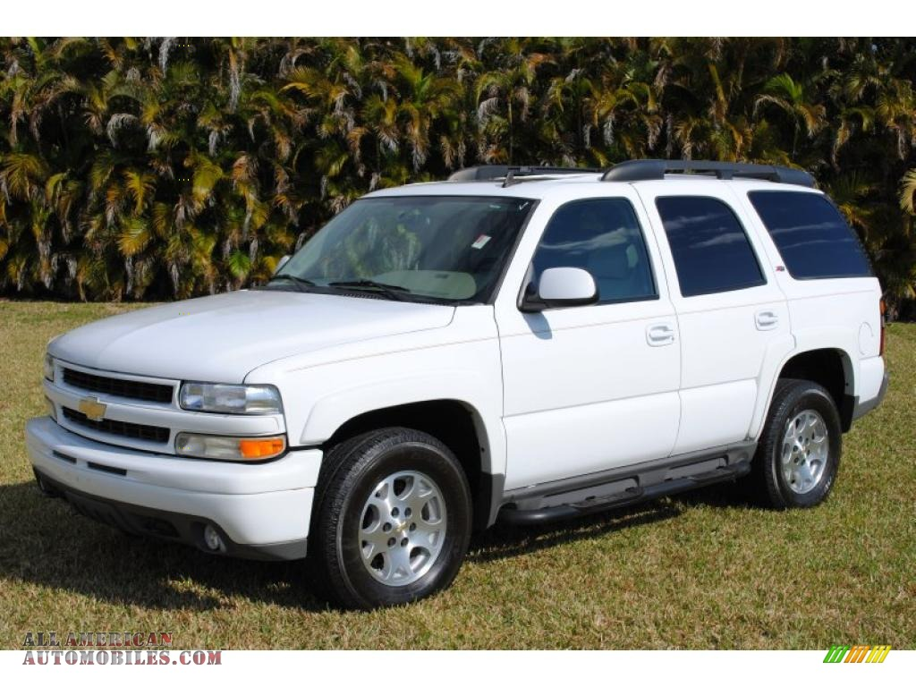 2006 chevrolet tahoe z71 4x4 in summit white photo 6 117997 all american automobiles buy. Black Bedroom Furniture Sets. Home Design Ideas