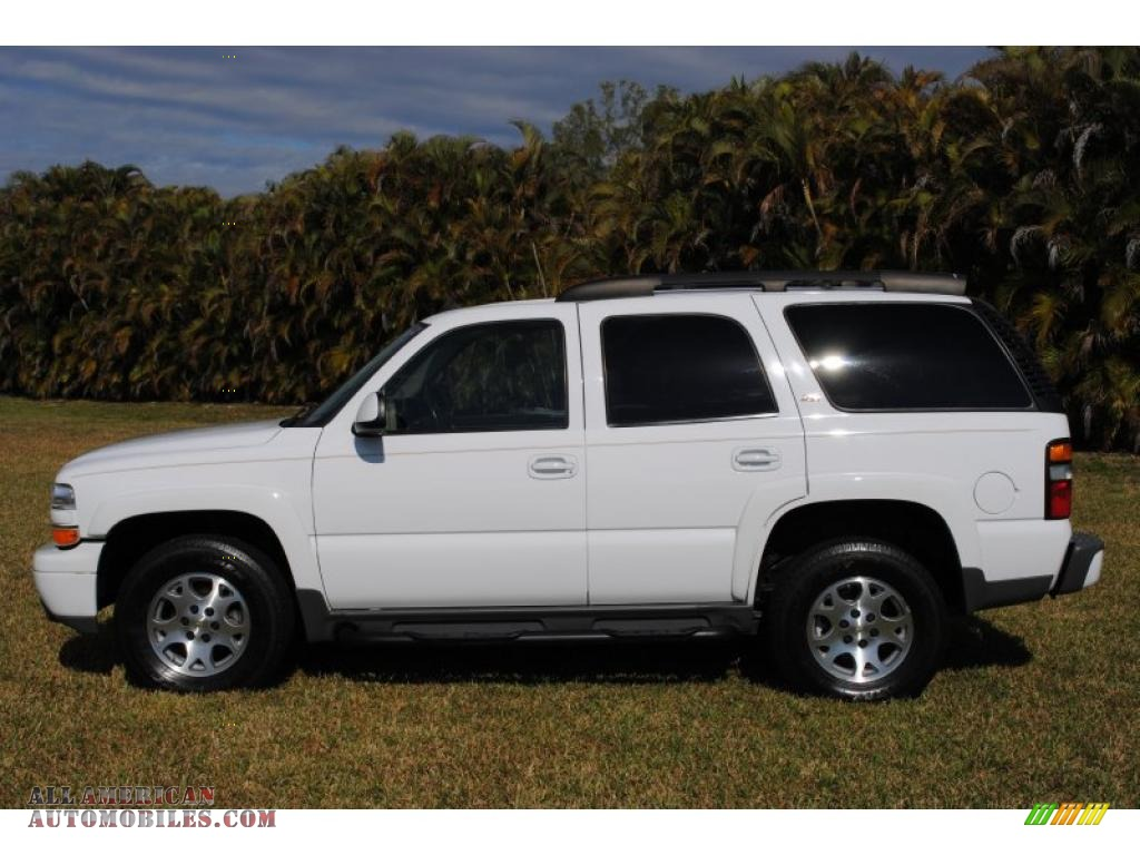 2006 chevrolet tahoe z71 4x4 in summit white photo 2 117997 all american automobiles buy. Black Bedroom Furniture Sets. Home Design Ideas