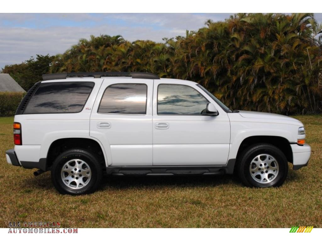 2006 chevrolet tahoe z71 4x4 in summit white photo 4 117997 all american automobiles buy. Black Bedroom Furniture Sets. Home Design Ideas