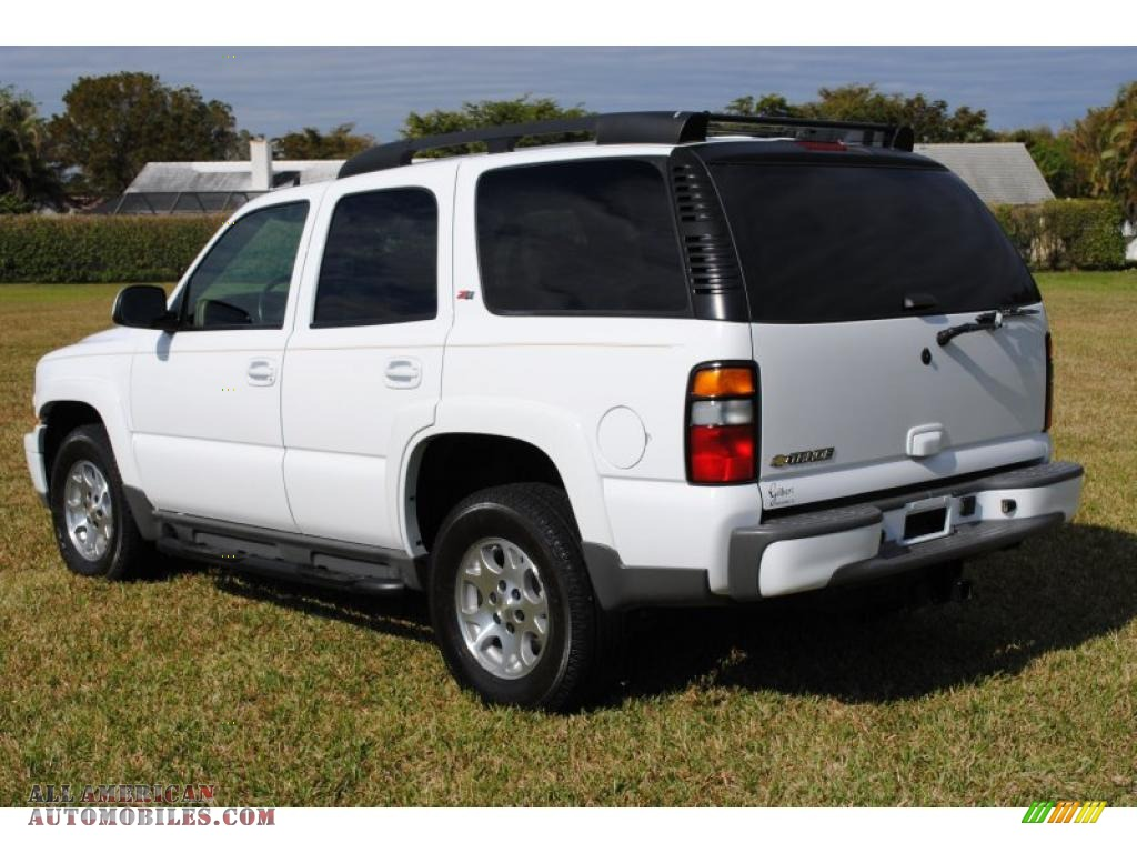 2006 chevrolet tahoe z71 4x4 in summit white photo 8 117997 all american automobiles buy. Black Bedroom Furniture Sets. Home Design Ideas