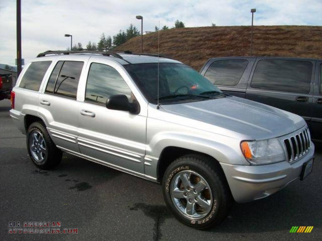 2003 Jeep Grand Cherokee Limited 4x4 In Bright Silver