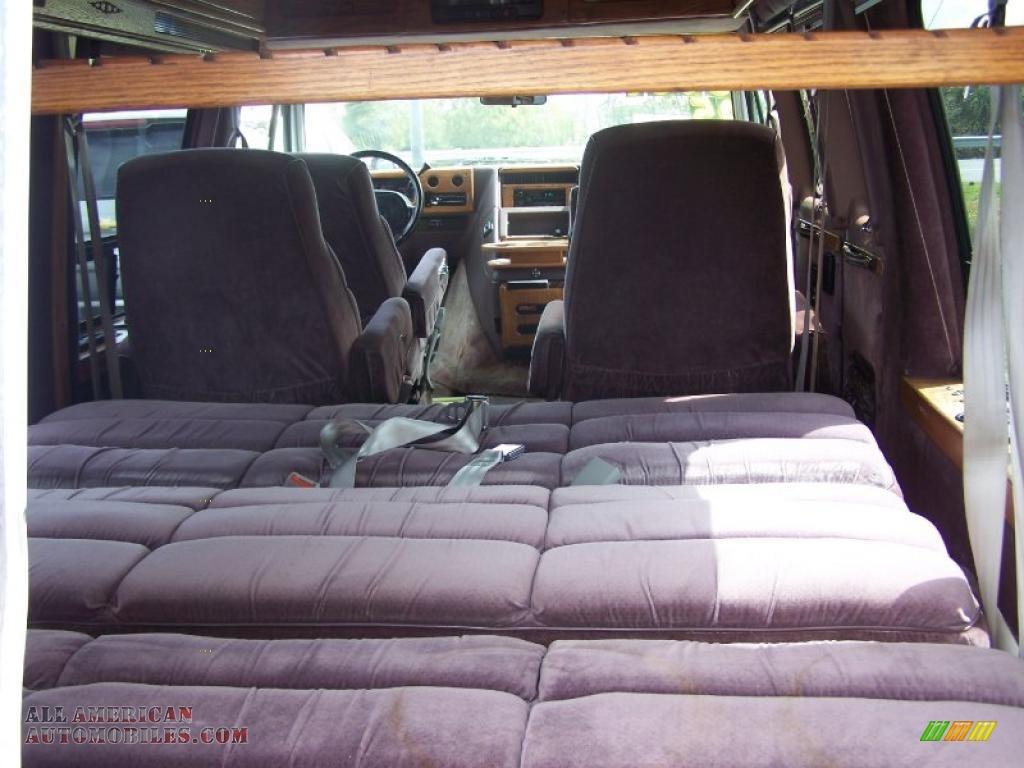 2017 Yukon Slt >> 1995 GMC Vandura G2500 Conversion Van in White photo #5
