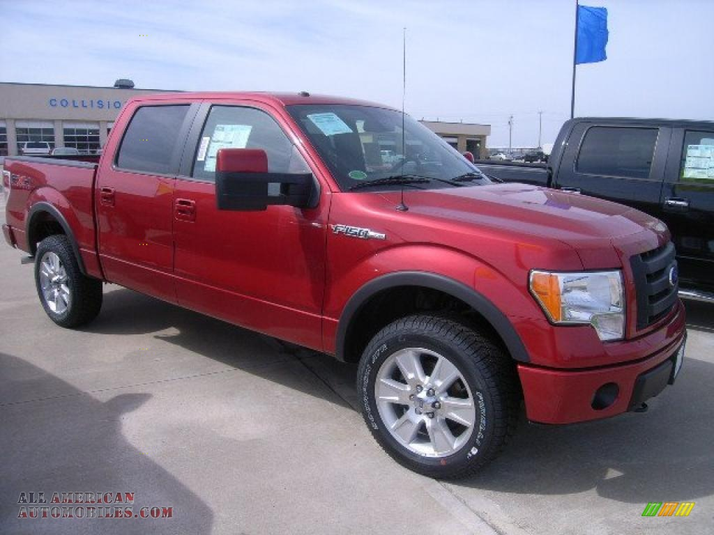 2010 ford f150 fx4 supercrew 4x4 in red candy metallic for Max motors ford harrisonville mo