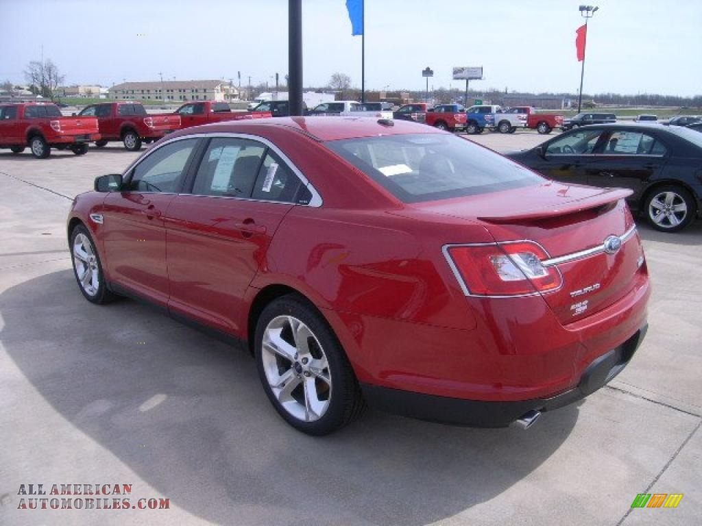 2010 ford taurus sho awd in red candy metallic photo 7 119851 all american automobiles. Black Bedroom Furniture Sets. Home Design Ideas