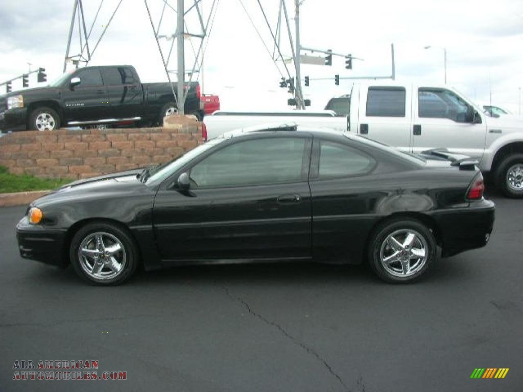 2004 pontiac grand am gt coupe in black 644344 all american automobiles buy american cars. Black Bedroom Furniture Sets. Home Design Ideas