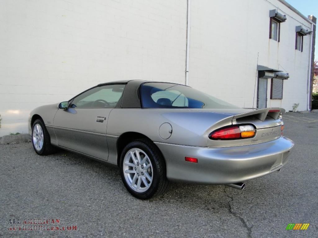 2001 chevrolet camaro z28 coupe in light pewter metallic photo 9 141086 all american. Black Bedroom Furniture Sets. Home Design Ideas