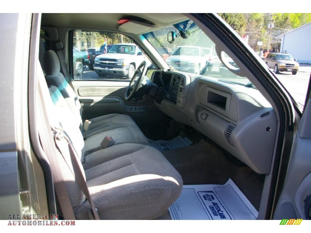 2000 Chevrolet Silverado 2500 LS Crew Cab 4x4 in Light Pewter Metallic photo #12 - 445618 | All ...
