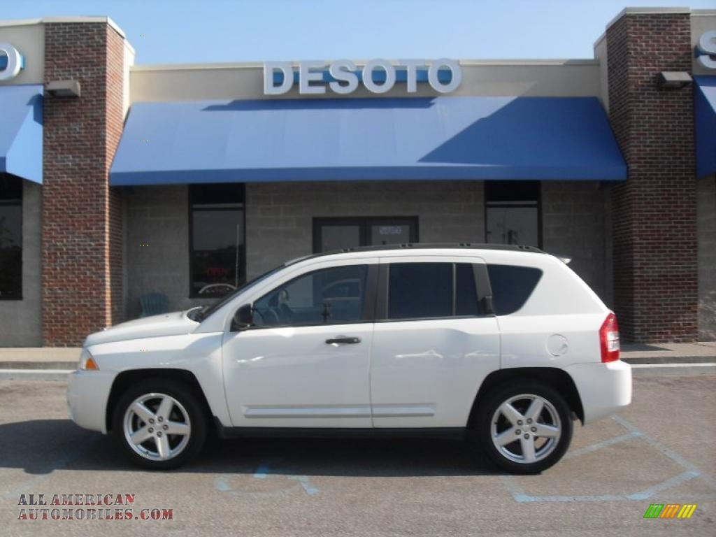 2007 Jeep Compass Limited In Stone White Photo 9 222938