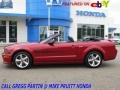 Ford Mustang GT/CS California Special Convertible Dark Candy Apple Red photo #1