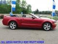 Ford Mustang GT/CS California Special Convertible Dark Candy Apple Red photo #6