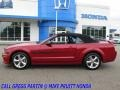 Ford Mustang GT/CS California Special Convertible Dark Candy Apple Red photo #11