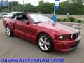 Ford Mustang GT/CS California Special Convertible Dark Candy Apple Red photo #14