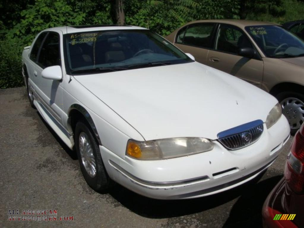 1997 Mercury Cougar Xr7 In Vibrant White 615904 All American Automobiles Buy American Cars