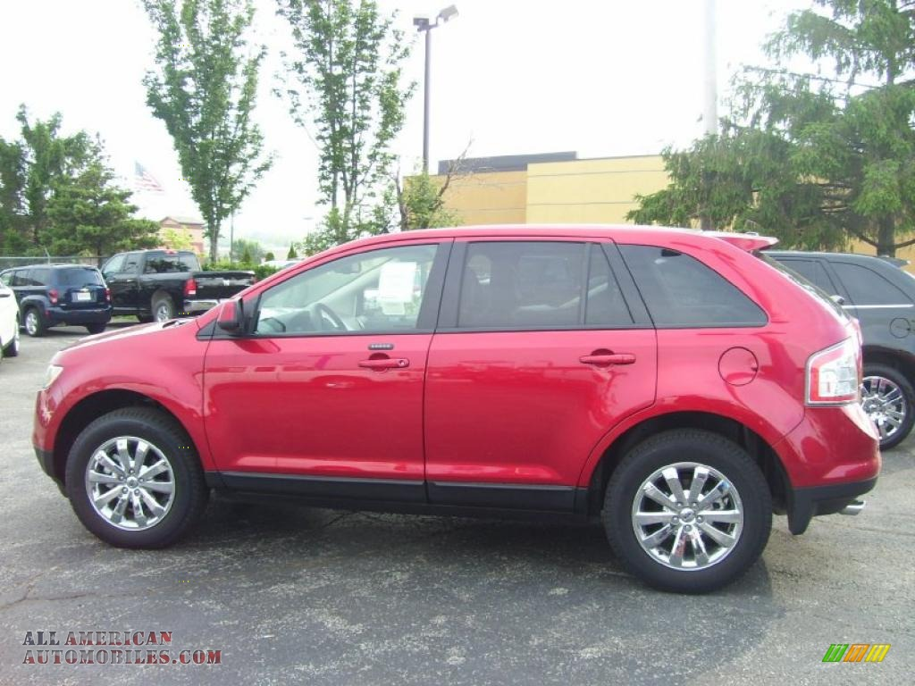 2010 ford edge limited in red candy metallic photo 4. Black Bedroom Furniture Sets. Home Design Ideas