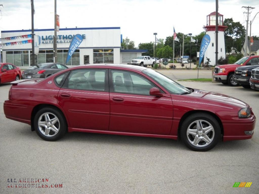 2005 chevrolet impala ss supercharged in sport red metallic 235152 all american automobiles. Black Bedroom Furniture Sets. Home Design Ideas