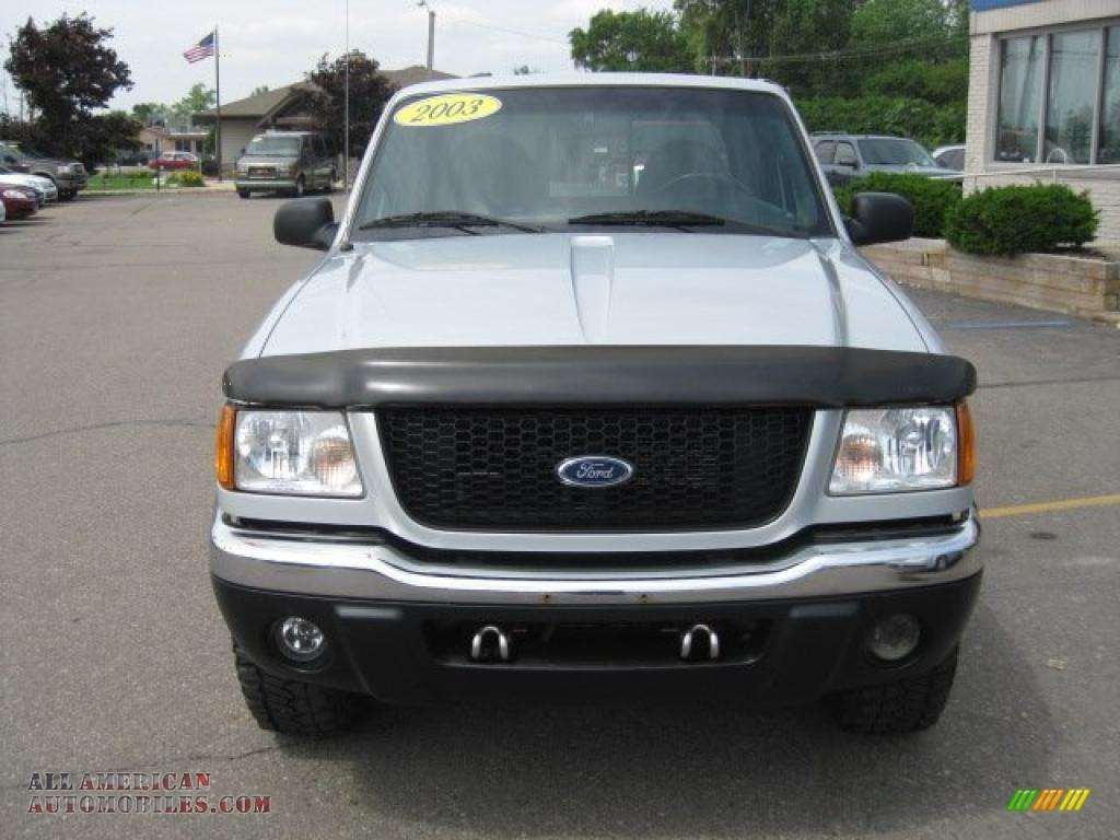 2003 ford ranger fx4 level ii supercab 4x4 in silver frost metallic photo 9 a34119 all. Black Bedroom Furniture Sets. Home Design Ideas