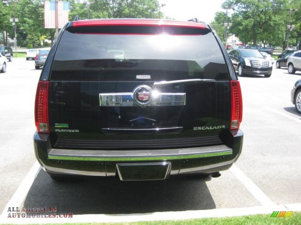 2010 Cadillac Escalade Esv Platinum Awd In Black Raven