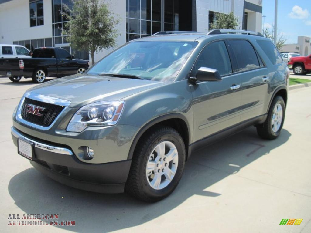 2010 gmc acadia sle in silver green metallic photo 8 265423 all american automobiles buy. Black Bedroom Furniture Sets. Home Design Ideas