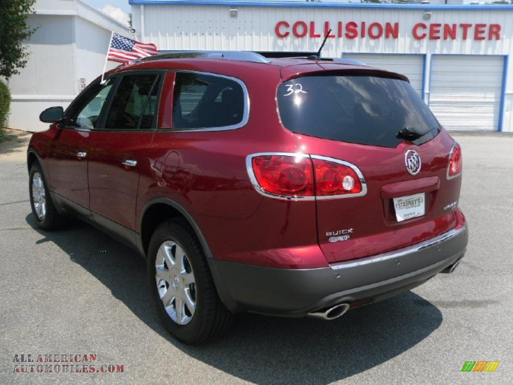 on 2010 Buick Enclave Color Options