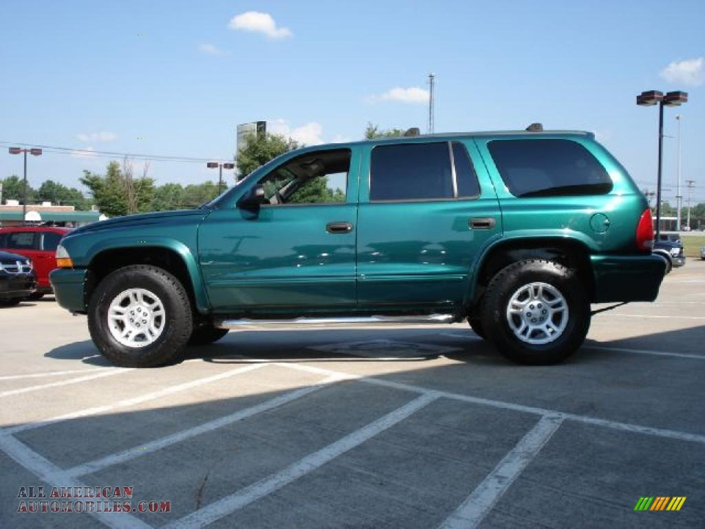 2003 dodge durango slt 4x4 in timberline green pearlcoat. Black Bedroom Furniture Sets. Home Design Ideas