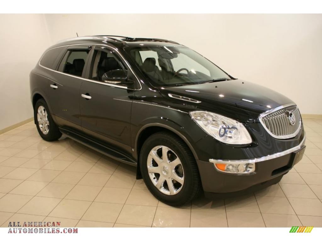 2009 Buick Enclave Cxl Awd In Carbon Black Metallic 169556 All American Automobiles Buy