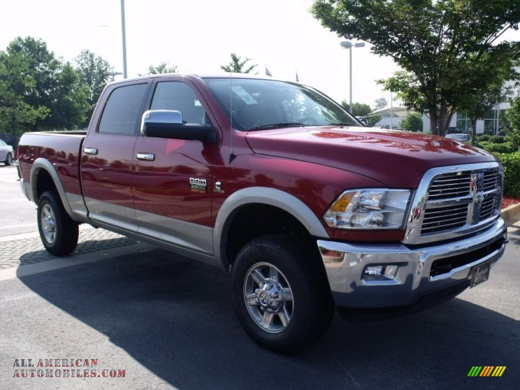 2010 dodge ram 2500 laramie crew cab 4x4 in inferno red crystal pearl photo 4 172051 all. Black Bedroom Furniture Sets. Home Design Ideas