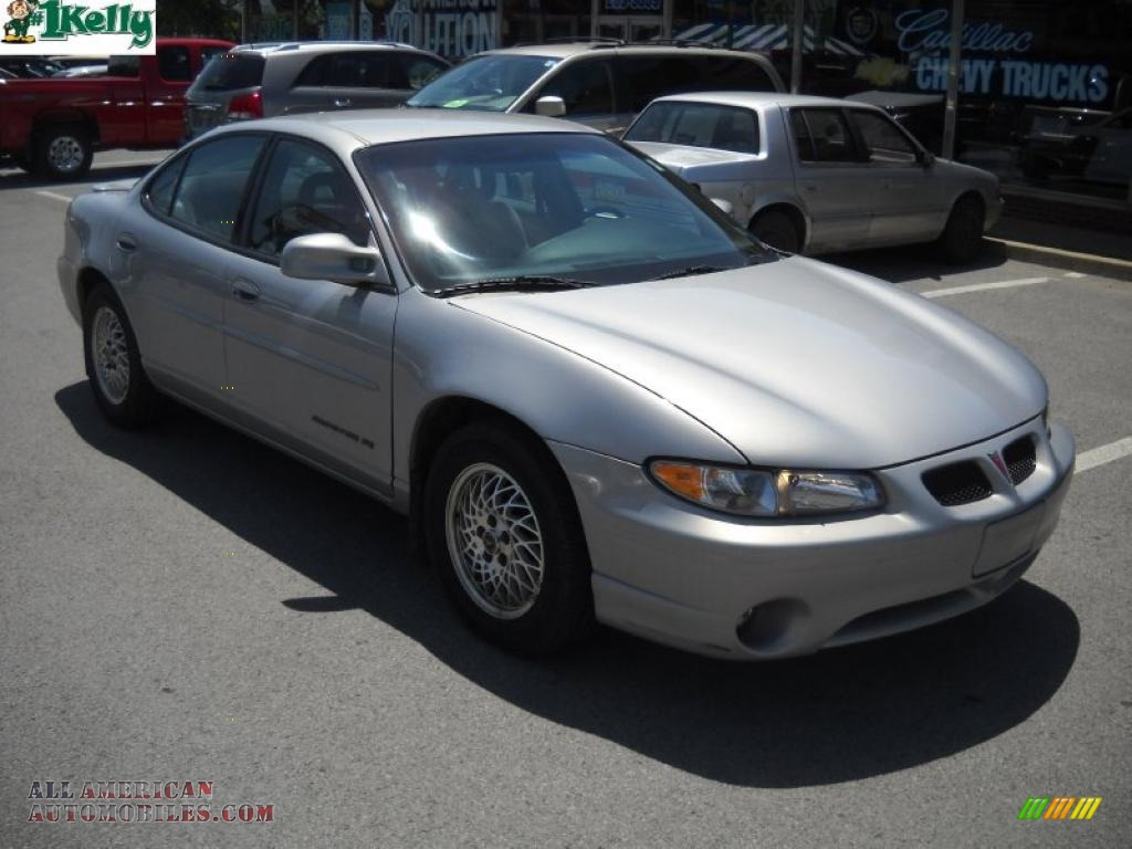 2000 pontiac grand prix se sedan in silvermist metallic 333934 all american automobiles. Black Bedroom Furniture Sets. Home Design Ideas