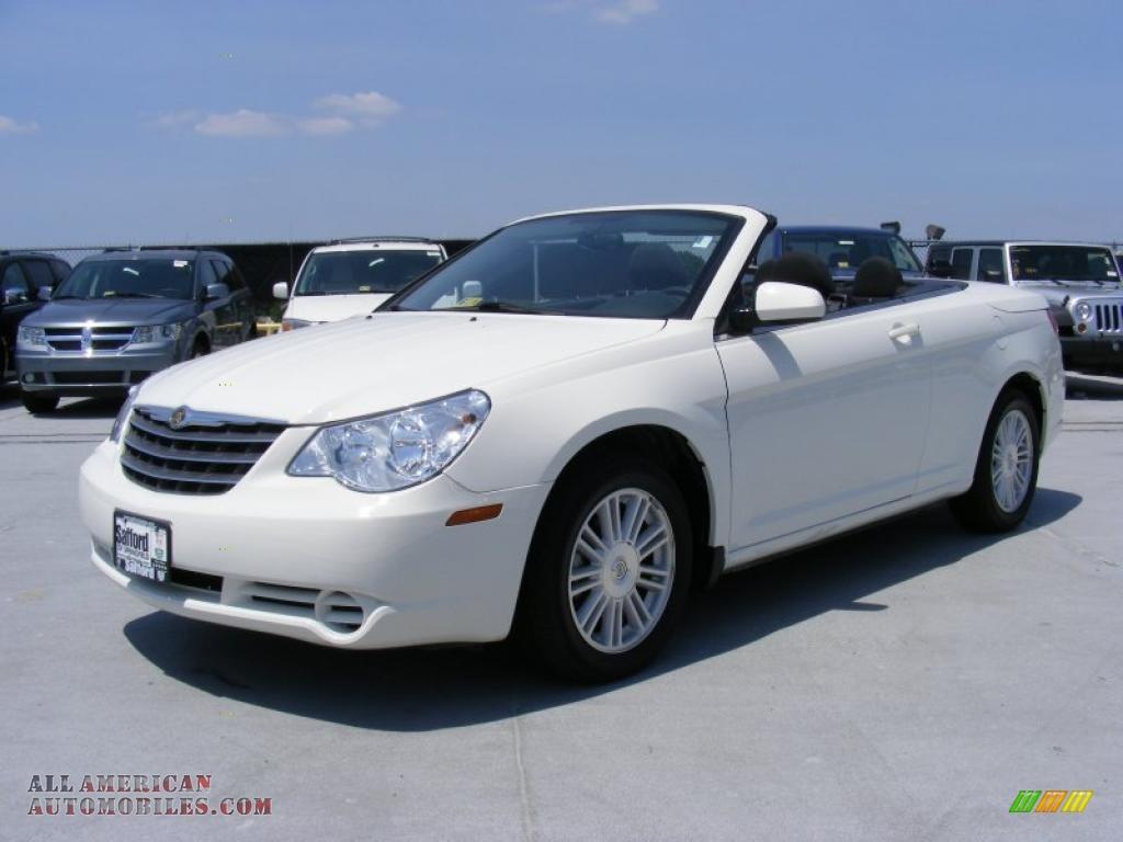 2009 Chrysler Sebring Touring Convertible In Stone White