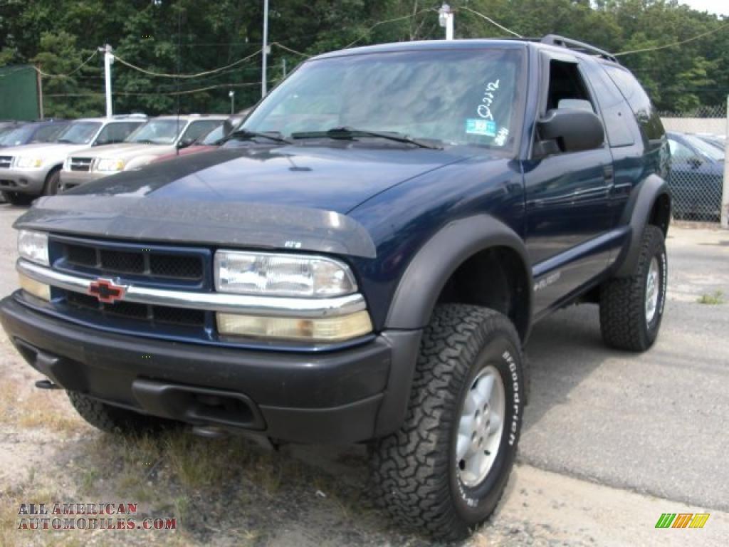 1999 Chevrolet Blazer Zr2 4x4 In Indigo Blue Metallic