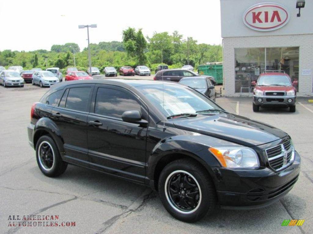 2007 dodge caliber sxt in black 535143 all american. Black Bedroom Furniture Sets. Home Design Ideas