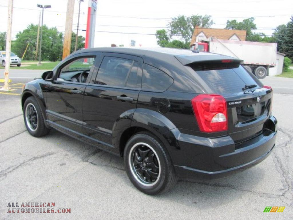 2007 dodge caliber sxt in black photo 5 535143 all. Black Bedroom Furniture Sets. Home Design Ideas