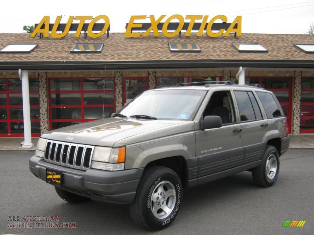 1998 Jeep Grand Cherokee Laredo 4x4 In Light Driftwood Satin Glow Gray