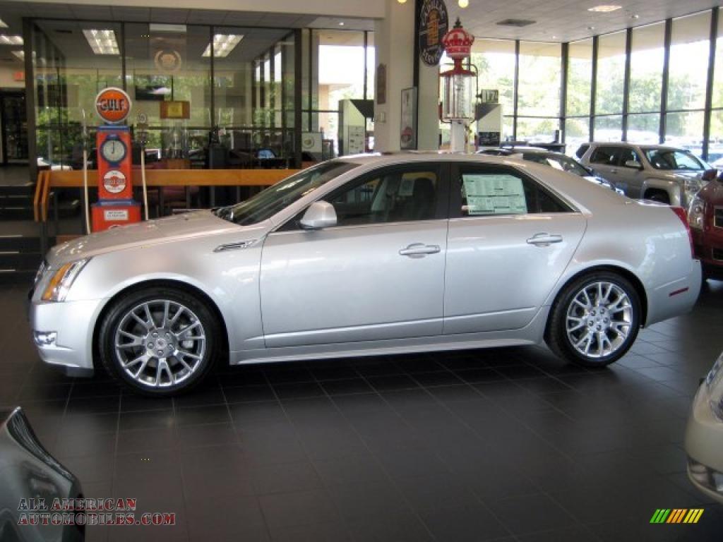 2010 Cadillac Cts 3 6 Premium Sedan In Radiant Silver Metallic 145203 All American