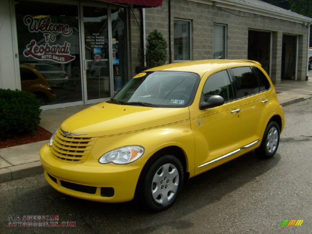 2006 chrysler pt cruiser street cruiser route 66 edition in solar yellow 258279 all american. Black Bedroom Furniture Sets. Home Design Ideas