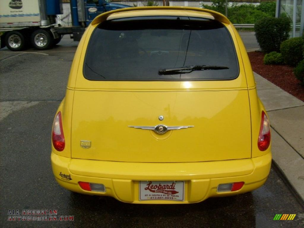 2006 chrysler pt cruiser street cruiser route 66 edition in solar yellow photo 4 258279 all. Black Bedroom Furniture Sets. Home Design Ideas