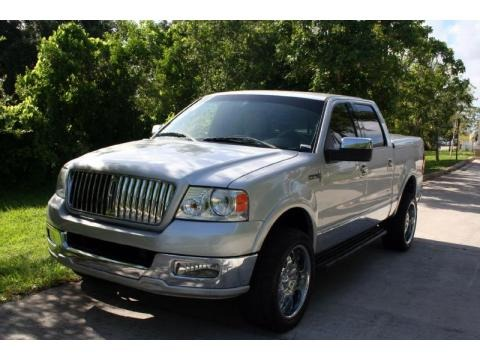 Silver Metallic 2006 Lincoln Mark LT SuperCrew 4x4