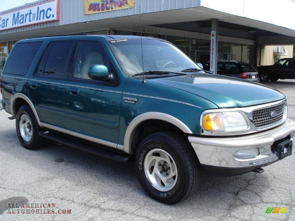 1998 Ford Expedition Eddie Bauer 4x4 In Pacific Green