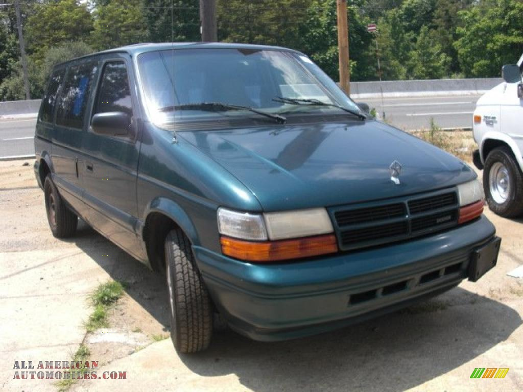 Classic Ford Madison >> 1995 Dodge Caravan SE in Emerald Green Pearl photo #2 ...