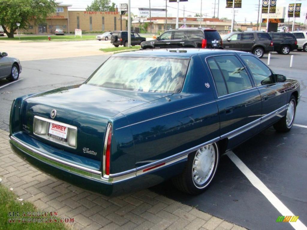 1996 cadillac deville sedan in dark calypso green metallic. Cars Review. Best American Auto & Cars Review