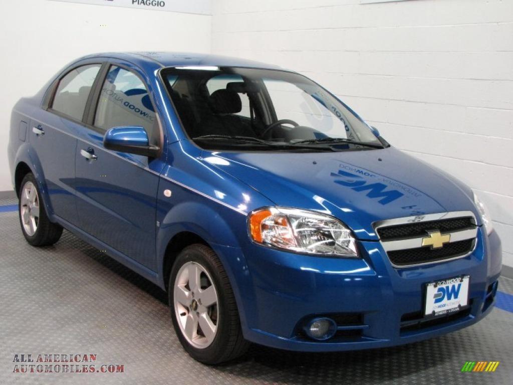 2008 Chevrolet Aveo LT Sedan in Bright Blue Metallic - 057195 | All American Automobiles - Buy ...