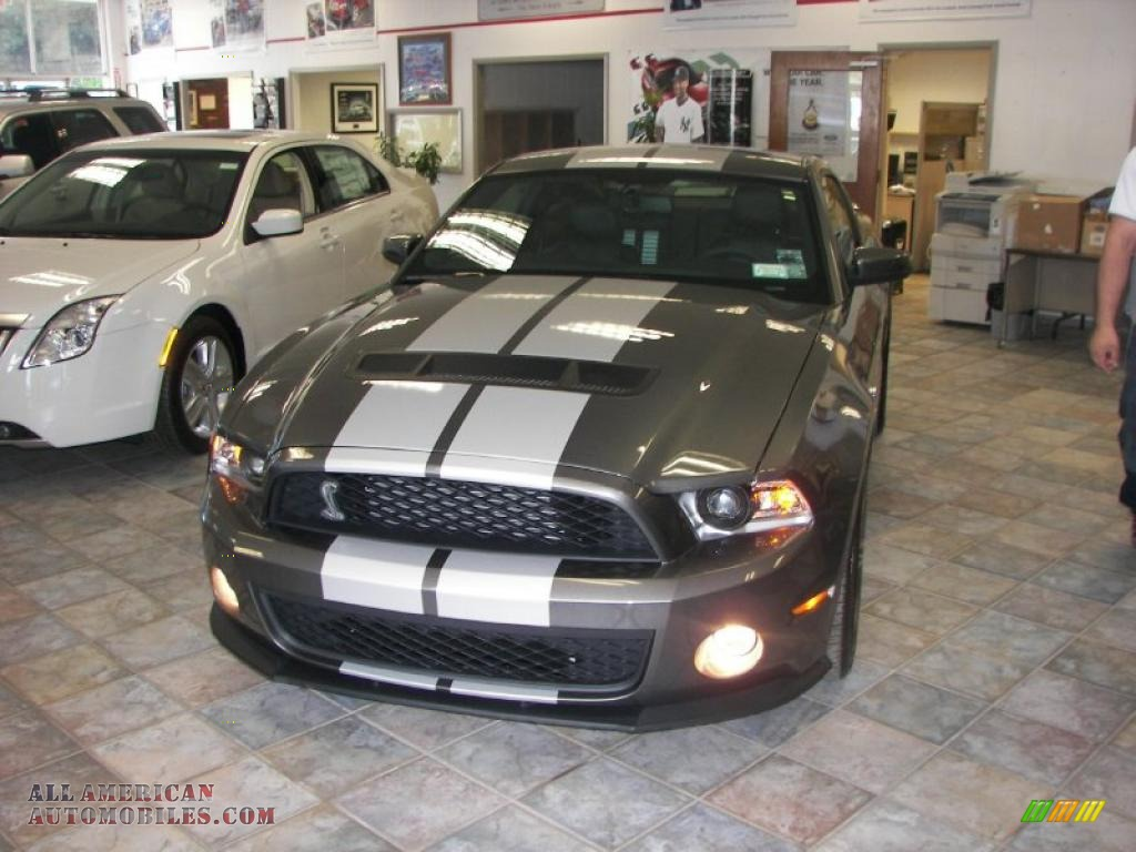 2010 Ford Mustang Shelby Gt500 Coupe In Sterling Grey