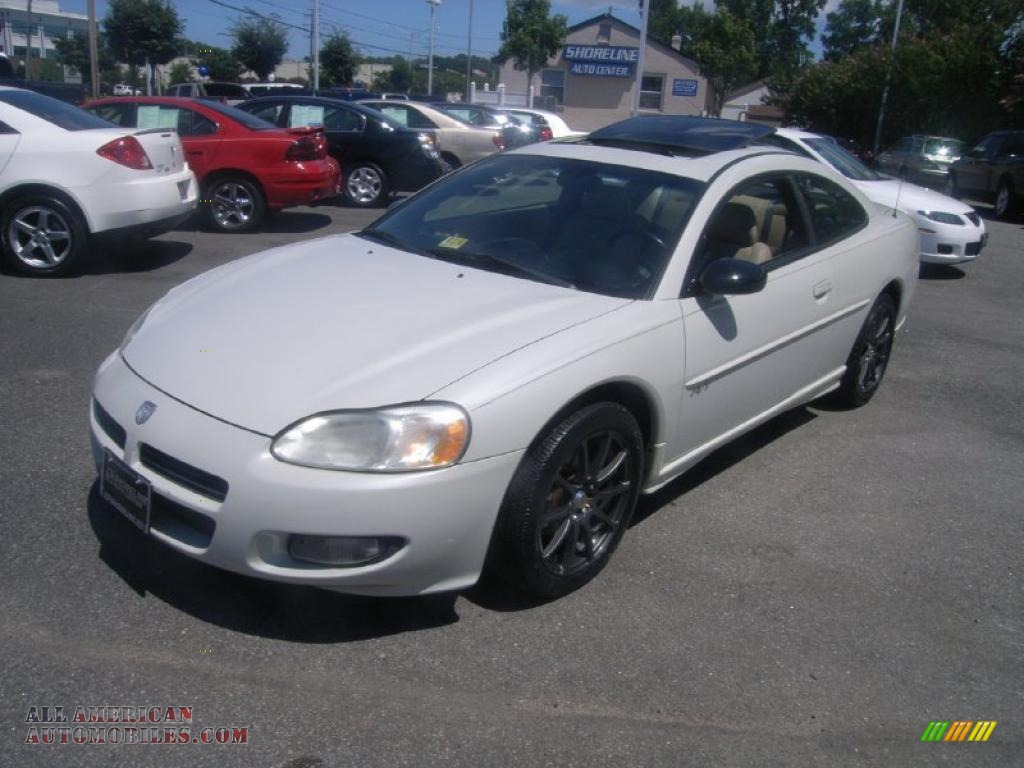 2002 dodge stratus r t coupe in satin white pearl 008271. Black Bedroom Furniture Sets. Home Design Ideas