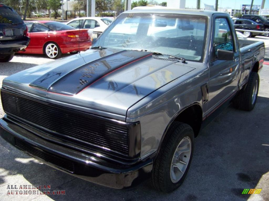1989 chevrolet s10 regular cab in black 125925 all american automobiles buy american cars. Black Bedroom Furniture Sets. Home Design Ideas