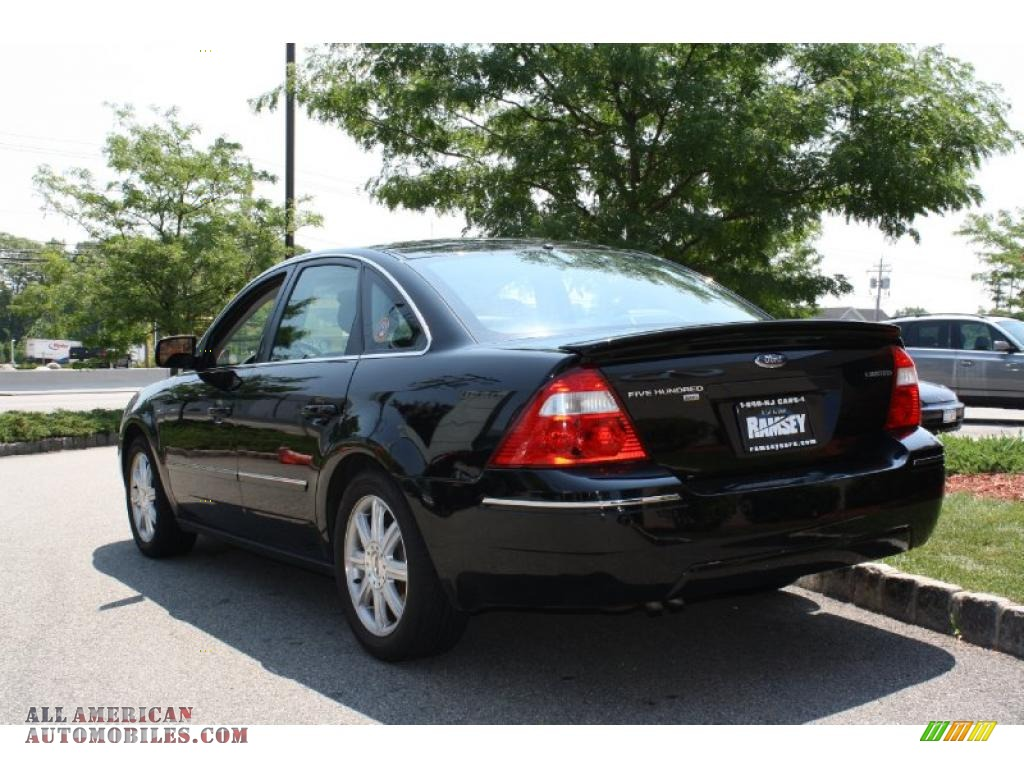 2005 Ford Five Hundred Limited AWD in Black photo #2 - 147961 | All ...