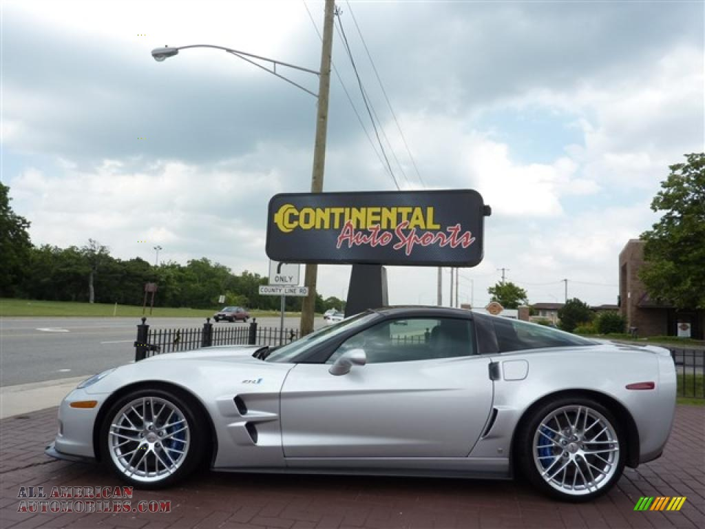 2009 Chevrolet Corvette Zr1 In Blade Silver Metallic Photo